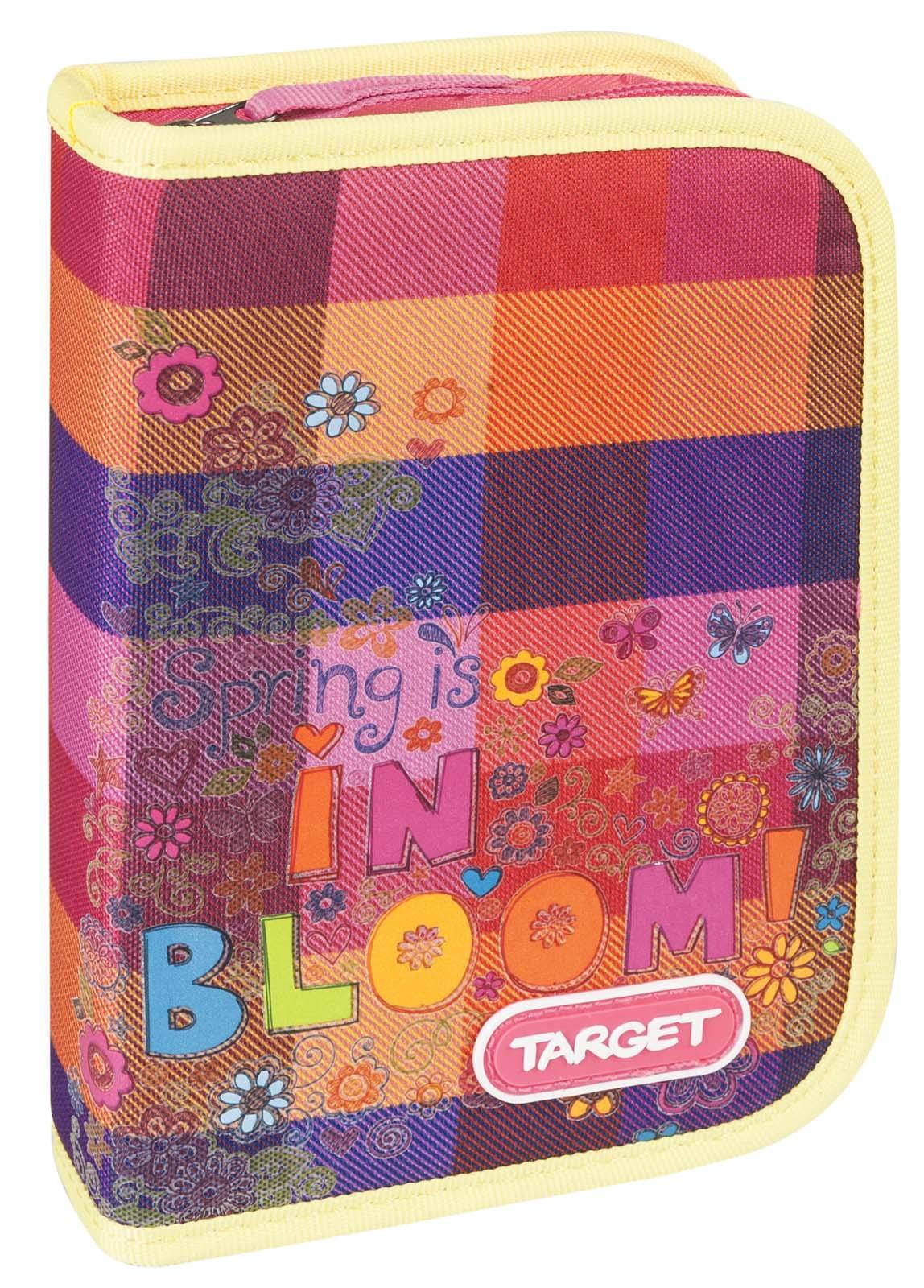 Target Collection Пенал Цветение с наполнением