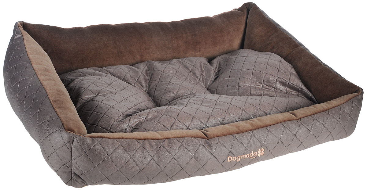 Лежак для животных Dogmoda Шоколад, 74 х 61 х 21 смЛ16/4Лежак для животных Dogmoda Шоколад прекрасно подойдет для отдыха вашего домашнего питомца. Предназначен для кошек и собак. Изделие выполнено из полиэстера и велюра. Внутри - мягкий наполнитель из холлофайбера, который обеспечивает комфорт и уют. Лежак снабжен съемной подушкой. Роскошный, уютный и стильный лежак Шоколад станет излюбленным местом отдыха для вашего питомца. А стильный дизайн сделает его настоящим украшением интерьера.Размеры: 74 х 61 х 21 см.