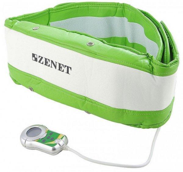Zenet ZET-750 Пояс массажный (TL-2005L-B)15032024Тип воздействия: Инфракрасное излучение, Вибромассаж Программ массажа: 5 Количество вибромоторов: 2 Комплект: Пояс, таймер, сумочка, Пульт управления с LCD дисплеем
