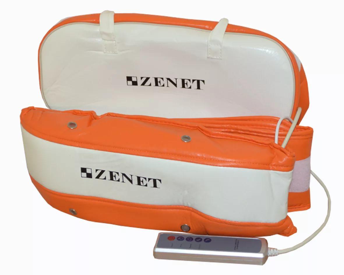 Zenet ZET-753 Пояс массажный (WH-1002)15032027Предназначен для тонизирования и укрепления мышц, моделирования фигуры. Комплектация: 1. Массажный пояс; 2. Шнур электропитания; 3. Адаптер; 4. Дистанционное управление. Автоматическое и ручное управление, Несколько уровней интенсивности массажа.