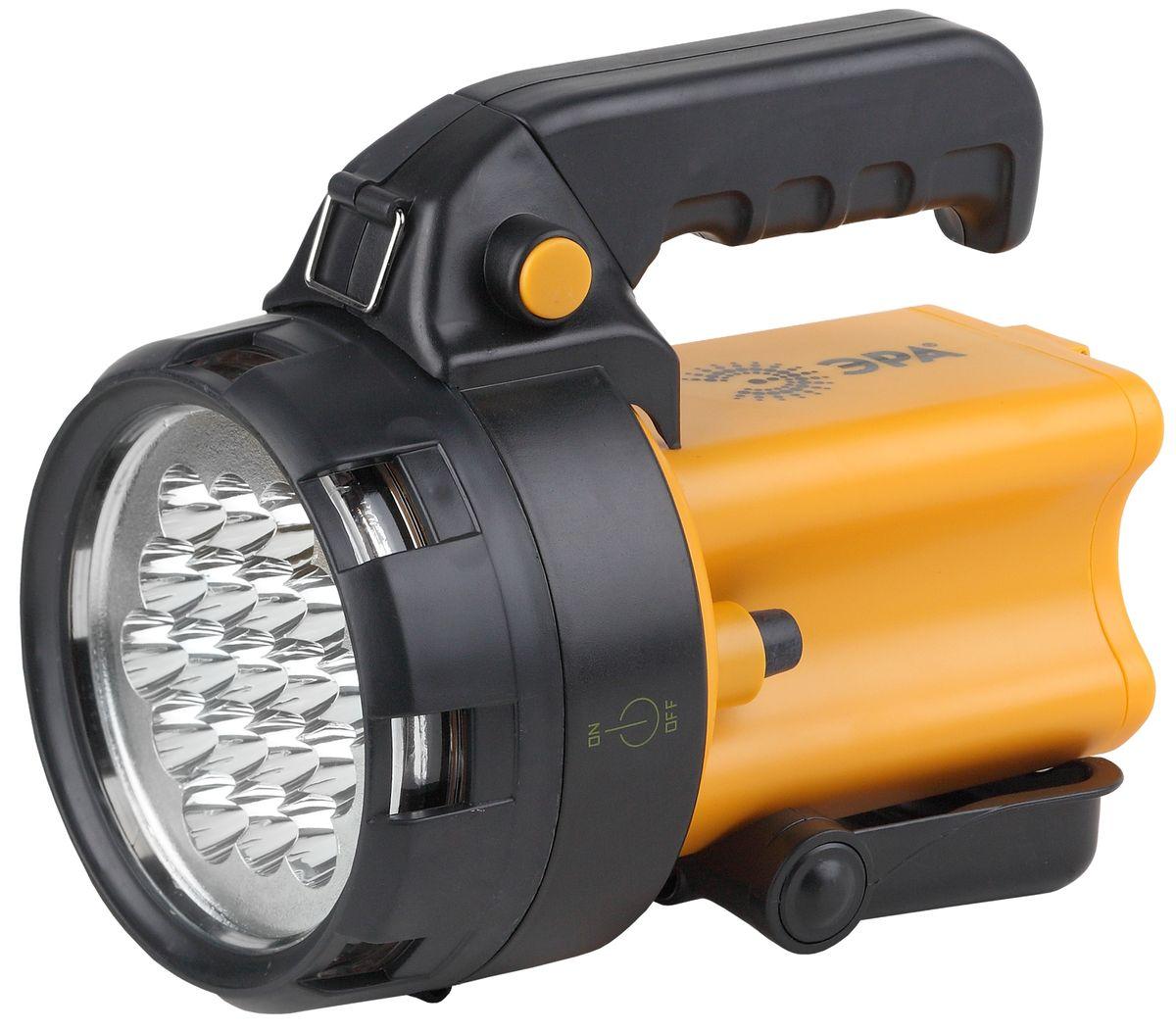 Фонарь ручной Эра, 19 x LED, аккумулятор 4,5Ah, ЗУ 220V+12V фонарь кемпинговый эра 10 smd 1w аккумулятор 4v 900mah зу 220v