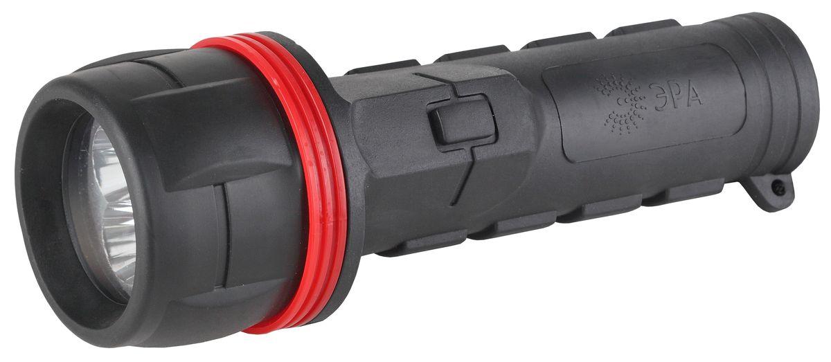 Фонарь ручной Эра, 3 x LED, 2 x D. R2D фонарь ручной эра практик 15 вт cob powerbank 6 ач с магнитом и крючком 3 режима