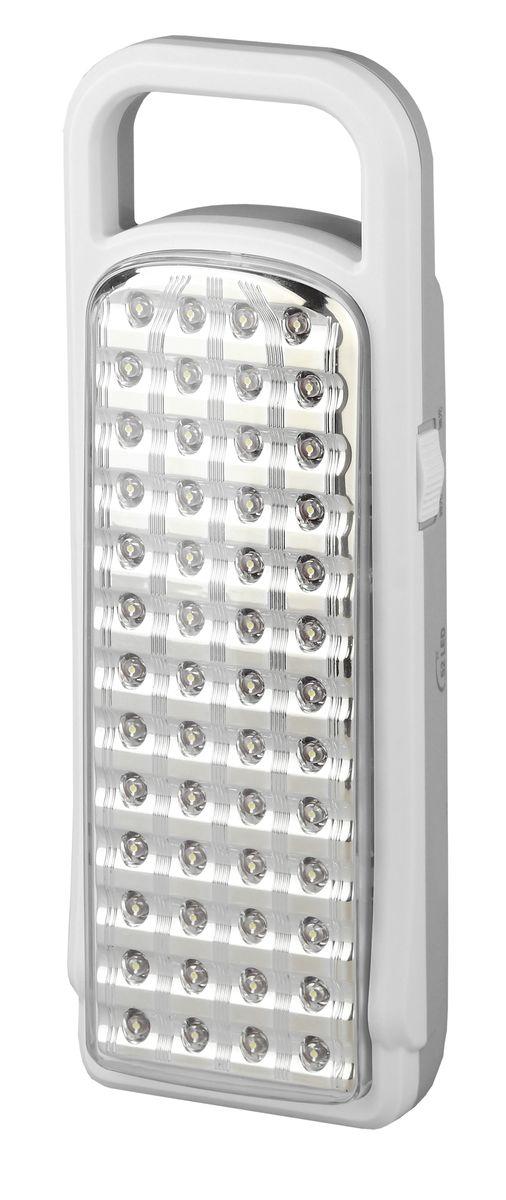 Фонарь ручной Трофи, 52 x LED, аккумулятор 4V 3Ah, ЗУ 220VTL52Аккумуляторный светодиодный фонарьТрофи:52 белых LED2 режима работыАккумулятор 4V 3AhПодзарядка от сети 220 Вольт.