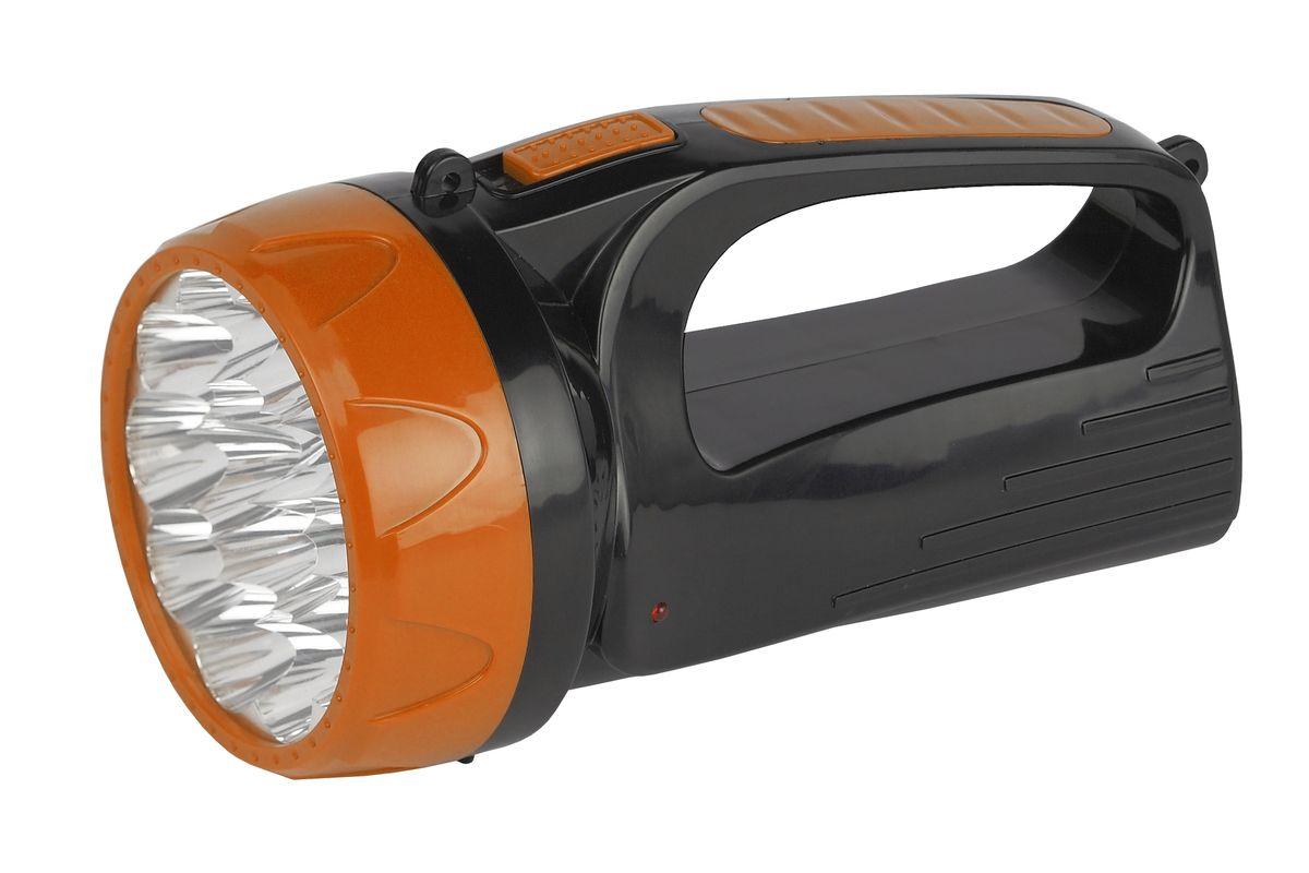 Фонарь ручной Трофи, 15 х LED, аккумулятор 4V 1,5Ah, 2 режима фонарь кемпинговый эра 10 smd 1w аккумулятор 4v 900mah зу 220v