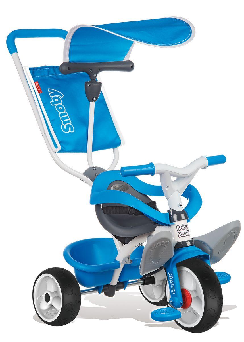 Smoby Велосипед трехколесный Balade цвет синий -  Велосипеды-каталки