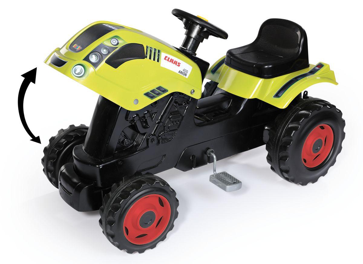 SmobyТрактор педальный CLAAS XL с прицепом Smoby