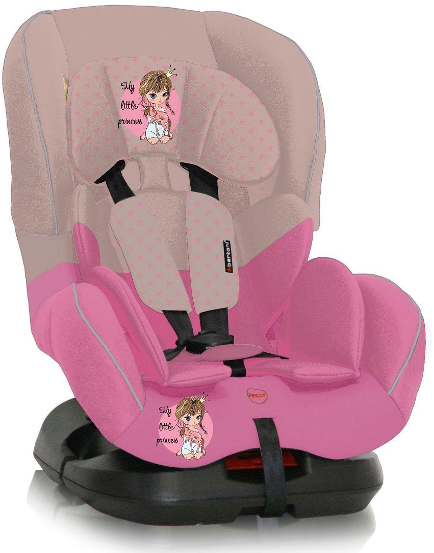 Bertoni Автокресло Concord цвет бежевый розовый от 0 до 18 кг