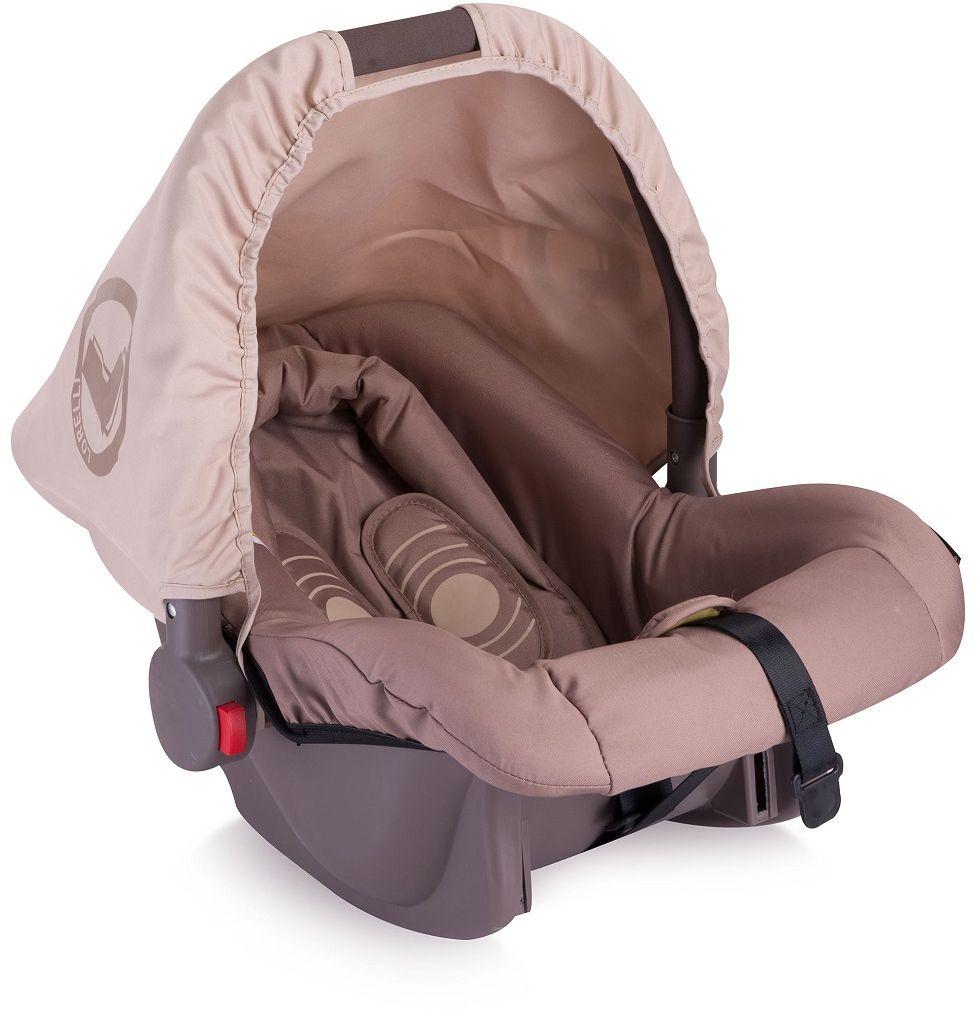 Lorelli Автокресло Bodyguard цвет бежевый от 0 до 13 кг3800151909057Автопереноска Lorelli Bodyguard, группа 0+, от 0 до 13 кг, 0 -1,5 года,5-точечный ремень безопасности, смягчающий матрасик для головы, солнцезащитный капюшон.