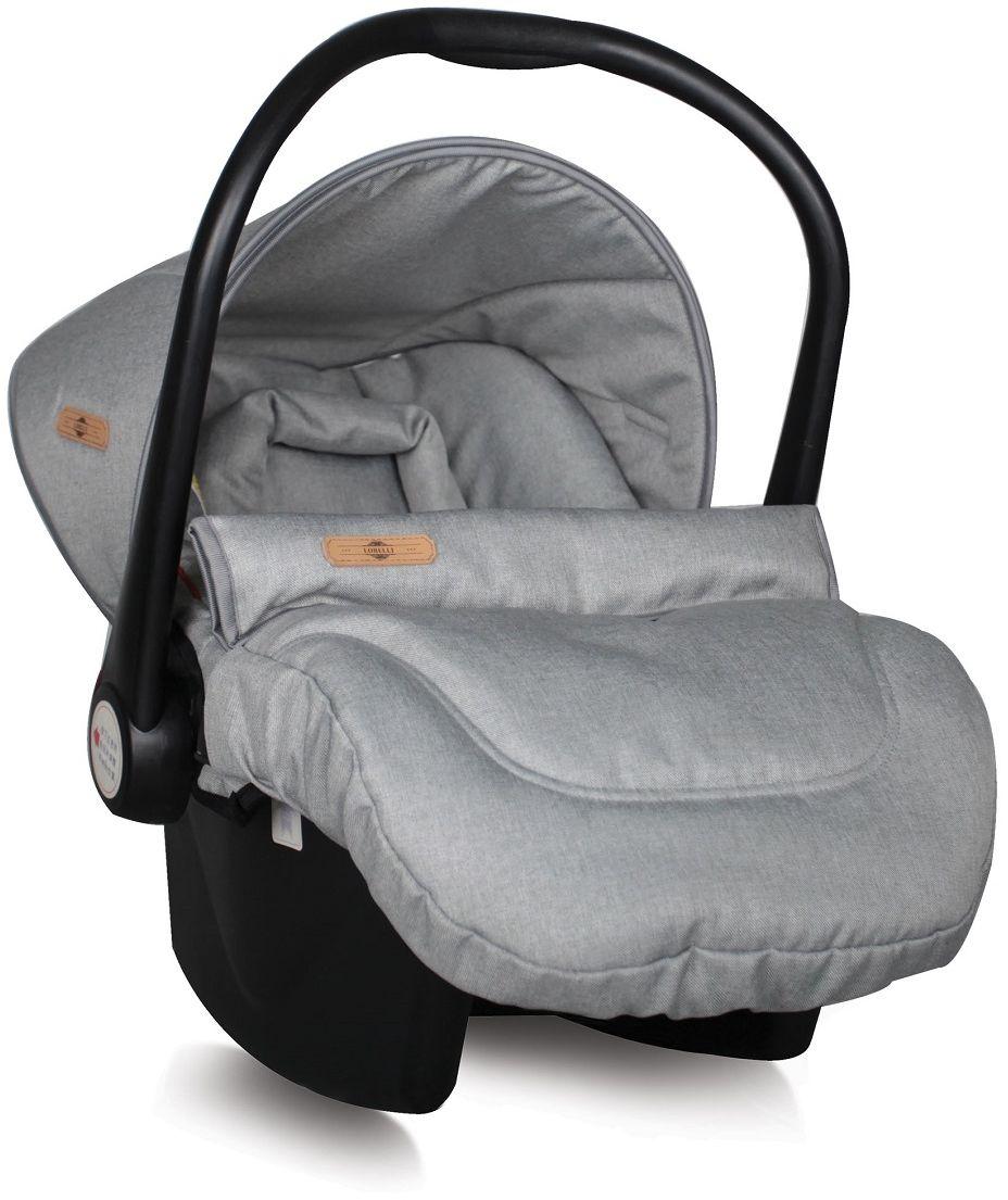 Lorelli Автокресло-переноска Lifesaver цвет серый от 0 до 13 кг3800151924081Автокресло-переноска Lorelli Lafesaver относится к группе 0+ и подходит для детей весом до 13 кг. Автокресло обеспечит безопасность и комфорт малыша во время поездок на автомобиле. Удобная ручка для переноски позволит использовать автокресло в качестве переносной люльки. Положение ручки регулируется. Автокресло оснащено солнцезащитным козырьком и съемным чехлом, благодаря чему его удобно мыть. Накладки на внутренние ремни обеспечат удобство для малыша. Внутренние 5-точечные ремни помогут бережно зафиксировать ребенка, анатомический вкладыш позволит ему принять комфортное положение, а активная защита головы сделает поездки еще более безопасными.Кресло защищено от боковых ударов. Ширина кресла и высота подголовника не регулируется. Для детей весом до 9 кг автокресло устанавливается спиной по ходу движения. В комплект также входит съемный чехол, прикрывающий ножки ребенка.