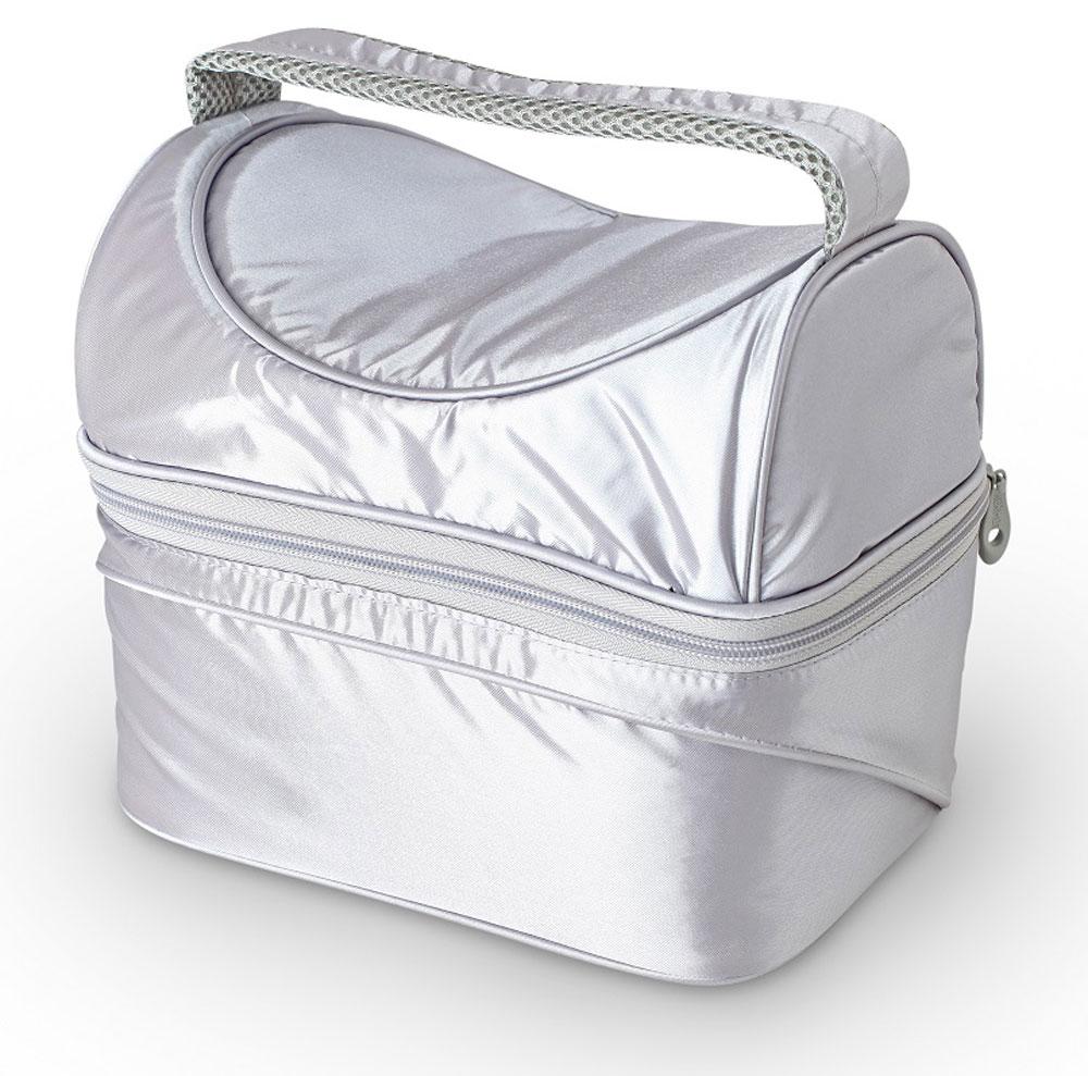 Термосумка Thermos Poptop Dual, цвет: серебряный, 6,5 л469199Thermos Poptop Dual -это термосумка, которая очень пригодится в поездке для перевозки косметических и лекарственных средств, требующих поддержания определенных температурных условий хранения. Благодаря ее изоляционному слою, сумка позволяет сохранять продукты свежими, а напитки холодными даже в жару. Объем: 6,5 л.