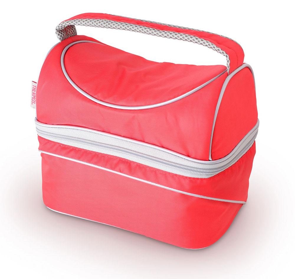 Термосумка Thermos Poptop Dual, цвет: красный, 6,5 л469243Thermos Poptop Dual -это термосумка, которая очень пригодится в поездке для перевозки косметических и лекарственных средств, требующих поддержания определенных температурных условий хранения. Благодаря ее изоляционному слою, сумка позволяет сохранять продукты свежими, а напитки холодными даже в жару. Объем: 6,5 л.