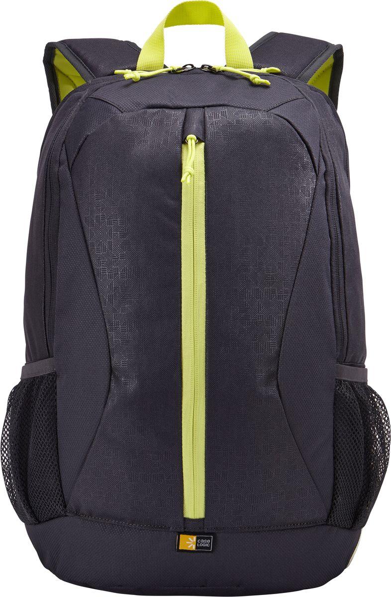 Case Logic Ibira, Anthracite рюкзак для ноутбука 15.6IBIR-115_ANTHRACITECase Logic Ibira - стильный, вместительный рюкзак с гибкой системой хранения поможет оставаться на связи,занимаясь повседневными делами. Имеет вшитый карман для ноутбука до 15.6 и карман для iPad или планшетаразмером 10.1. Карман для ноутбука можно использовать для хранения обуви или одежды отдельно от другихвещей. На задней панели предусмотрен потайной карман для безопасного хранения денег и документов. Оснащендополнительным отсеком для кабелей и небольших электронных устройств. Для удобного хранения необходимых впути вещей предусмотрены вертикальные карманы. Сетчатые боковые карманы позволяют взять в дорогубутылку с водой. Широкие, мягкие лямки обеспечивают комфортное распределение нагрузки рюкзака.Подходит для устройств размером 38,6 см х 26,7 см x 30 см Объем: 24 л