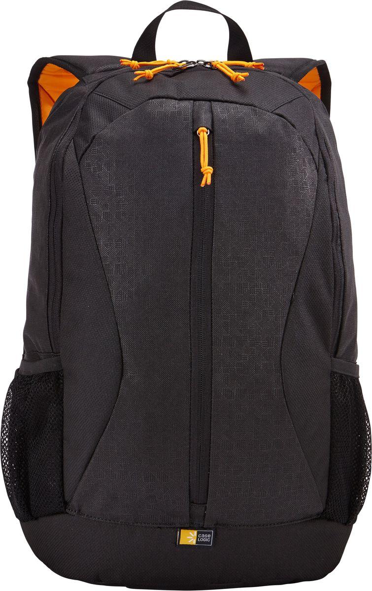 Case Logic Ibira, Black рюкзак для ноутбука 15.6IBIR-115_BLACKCase Logic Ibira - стильный, вместительный рюкзак с гибкой системой хранения поможет оставаться на связи, занимаясь повседневными делами. Имеет вшитый карман для ноутбука до 15.6 и карман для iPad или планшета размером 10.1. Карман для ноутбука можно использовать для хранения обуви или одежды отдельно от других вещей. На задней панели предусмотрен потайной карман для безопасного хранения денег и документов. Оснащен дополнительным отсеком для кабелей и небольших электронных устройств. Для удобного хранения необходимых в пути вещей предусмотрены вертикальные карманы. Сетчатые боковые карманы позволяют взять в дорогу бутылку с водой. Широкие, мягкие лямки обеспечивают комфортное распределение нагрузки рюкзака.Подходит для устройств размером 38,6 см х 26,7 см x 30 смОбъем: 24 л