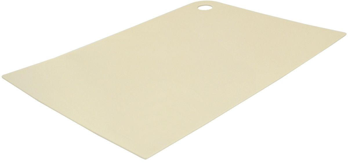 Доска разделочная Giaretti Elastico, гибкая, цвет: сливочный, 25 х 17 смGR1882СЛМаленькие и большие, под хлеб или сыр, овощи или мясо. Разделочных досок много не бывает. Giaretti предлагает новинку – гибкие доски.Преимущества:-не скользит по поверхности стола - вы можете резать продукты и не отвлекаться на мелочи; -удобно использовать - на гибкой доске вы сможете порезать продукты, согнув доску переложить их в блюдо и не рассыпать содержимое;-легкие доски займут мало места на вашей кухне;-легко моются в посудомоечной машине; -оптимальный размер доски позволят вам порезать небольшой кусок сыра или нашинковать много овощей.