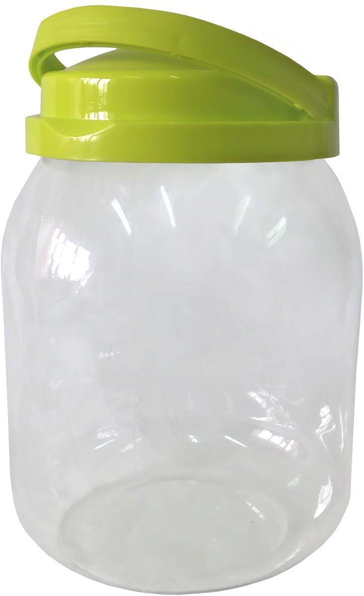 Емкость для хранения Plastic Centre Сфера, цвет: светло-зеленый, прозрачный, 3 л кувшин plastic centre сфера цвет светло зеленый прозрачный 2 л