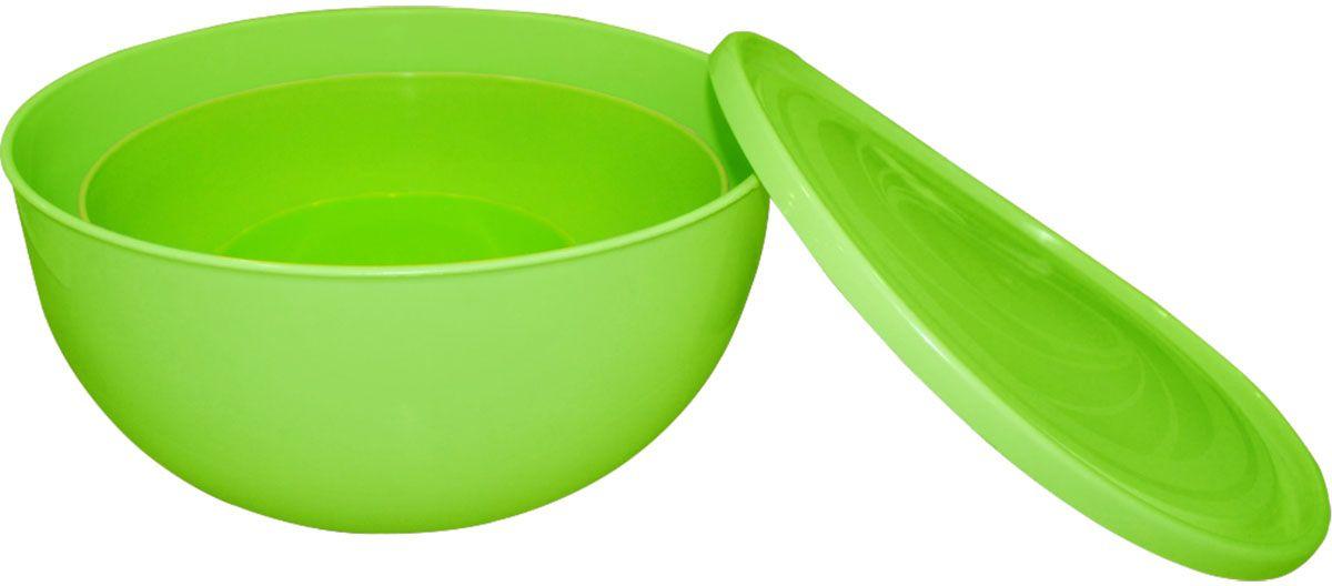 Набор салатников для шашлыка Plastic Centre «Galaxy», цвет: светло-зеленый