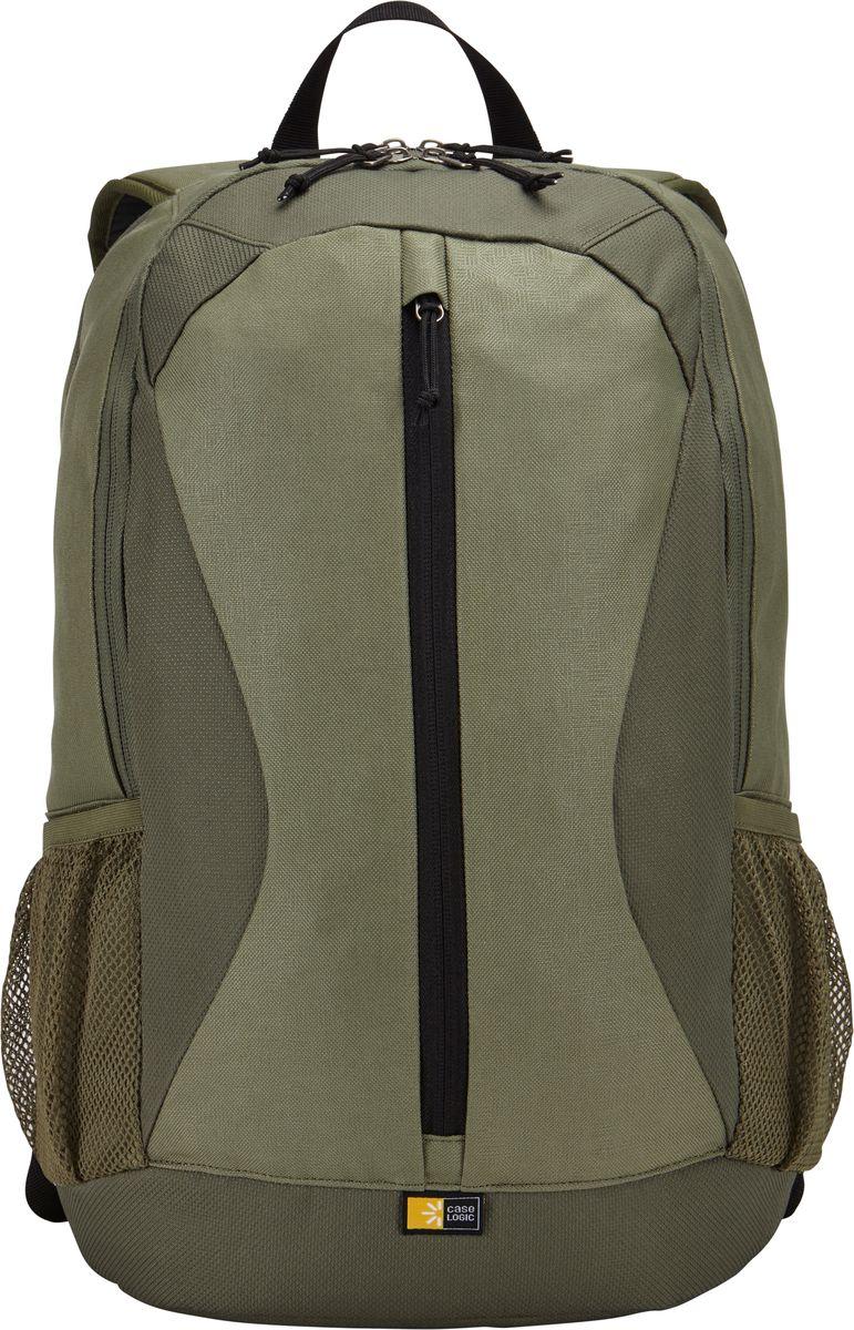Case Logic Ibira, Petrol рюкзак для ноутбука 15.6IBIR-115_PETROLCase Logic Ibira - стильный, вместительный рюкзак с гибкой системой хранения поможет оставаться на связи, занимаясь повседневными делами. Имеет вшитый карман для ноутбука до 15.6 и карман для iPad или планшета размером 10.1. Карман для ноутбука можно использовать для хранения обуви или одежды отдельно от других вещей. На задней панели предусмотрен потайной карман для безопасного хранения денег и документов. Оснащен дополнительным отсеком для кабелей и небольших электронных устройств. Для удобного хранения необходимых в пути вещей предусмотрены вертикальные карманы. Сетчатые боковые карманы позволяют взять в дорогу бутылку с водой. Широкие, мягкие лямки обеспечивают комфортное распределение нагрузки рюкзака.Подходит для устройств размером 38,6 см х 26,7 см x 30 смОбъем: 24 л
