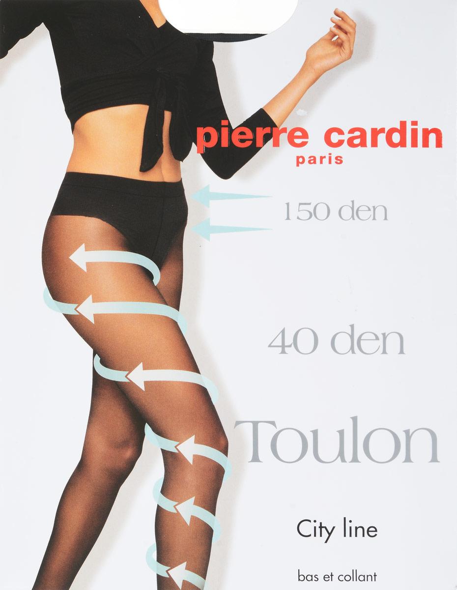 Колготки Pierre Cardin Toulon 40, цвет: Nero (черный). Размер 2 (42/44)Cr Toulon 40Стильные классические колготки Pierre Cardin Toulon, изготовленные из эластичного полиамида с добавлением хлопка, идеально дополнят ваш образ.Колготки шелковистые, матовые, эластичные, они легко тянутся, что делает их комфортными в носке. Гладкие и мягкие на ощупь, они имеют плоские швы, ластовицу из хлопка, укрепленный прозрачный мысок и отформованную пятку. Соблюдено градуированное давление на ногу для максимального комфорта. Резинка на поясе обеспечивает комфортную посадку. Кружевные высокоэластичные трусики плотностью 150 ден утягивают бока и живот, делая фигуру более стройной. Идеальное облегание и комфорт гарантированы при каждом движении.