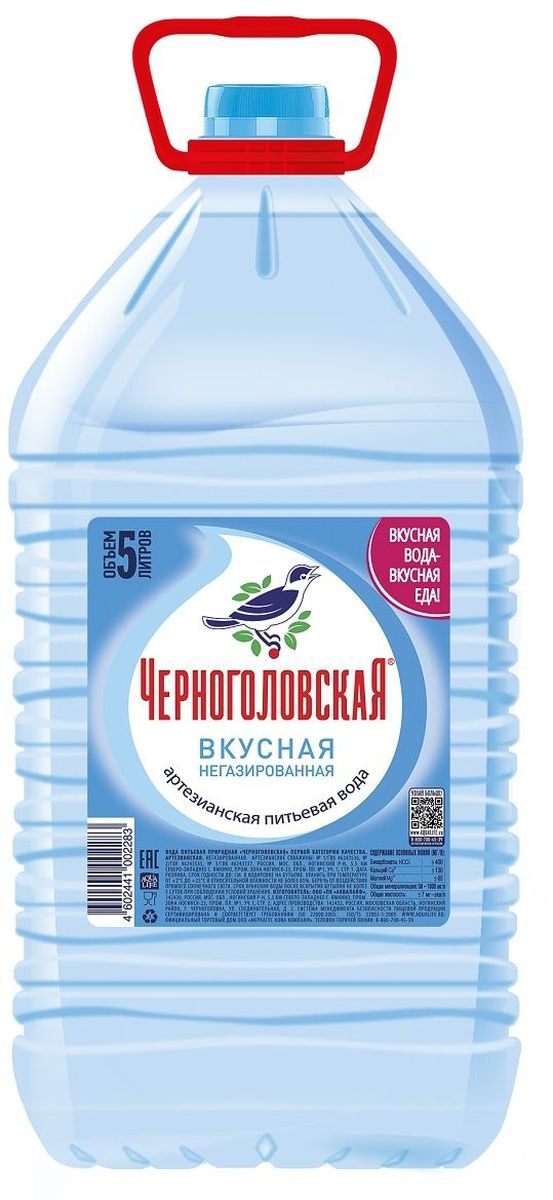 Черноголовская вкусная артезианская питьевая вода, 5 л черноголовская вкусная артезианская минеральная вода газированная 6 шт по 1 5 л