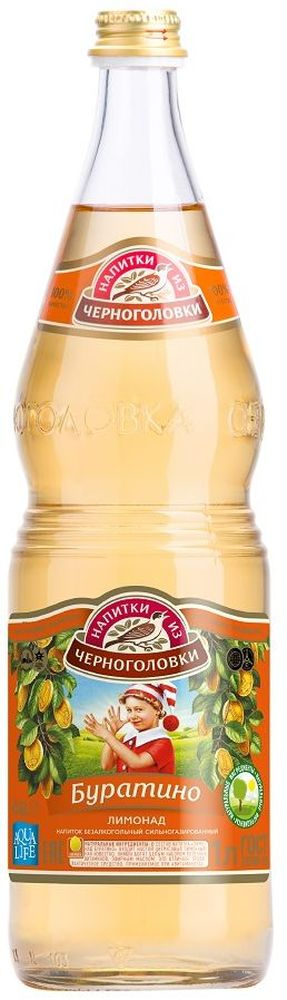 Лимонад Буратино напиток безалкогольный сильногазированный, 1 л nestle смесь молочная nestle nan нан кисломолочный 2 400 г с 6 12 мес