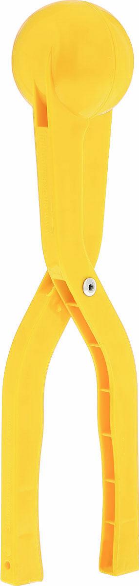 Снежкодел Снежколеп цвет желтый 29 см
