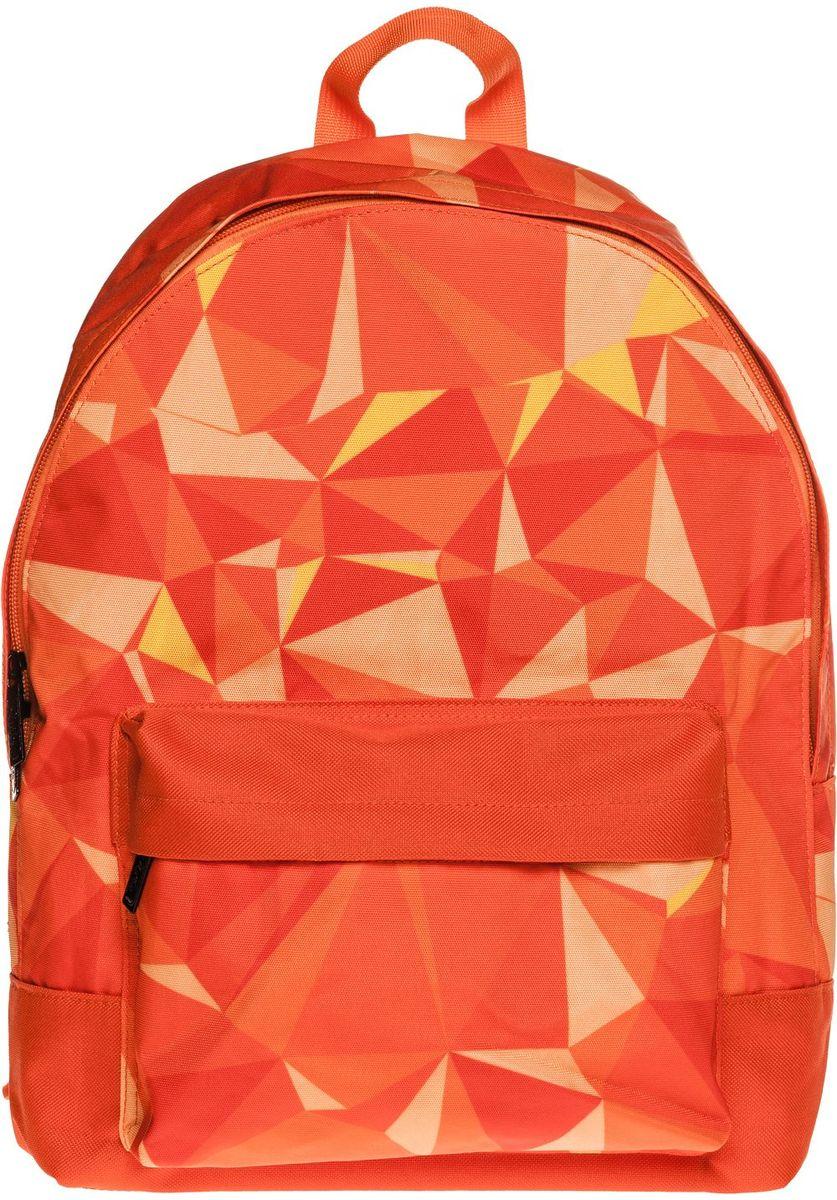 Hatber Рюкзак Basic PatternNRk_19075Рюкзак Hatber Basic Pattern - это современный молодежный рюкзак, отличающийся легкостью ивместительностью. Изделие выполнено из полиэстера и оформлено геометрическим принтом. Рюкзак имеет одно основное отделение на застежке-молнии. Внутри расположен карман для тетрадей, на лицевой стороне - накладной карман на молнии. Текстильная ручка обеспечивает возможность переноски рюкзака в одной руке. Уплотненные спинка и лямки гарантируют комфорт при любых обстоятельствах. Дно рюкзака также уплотнено.