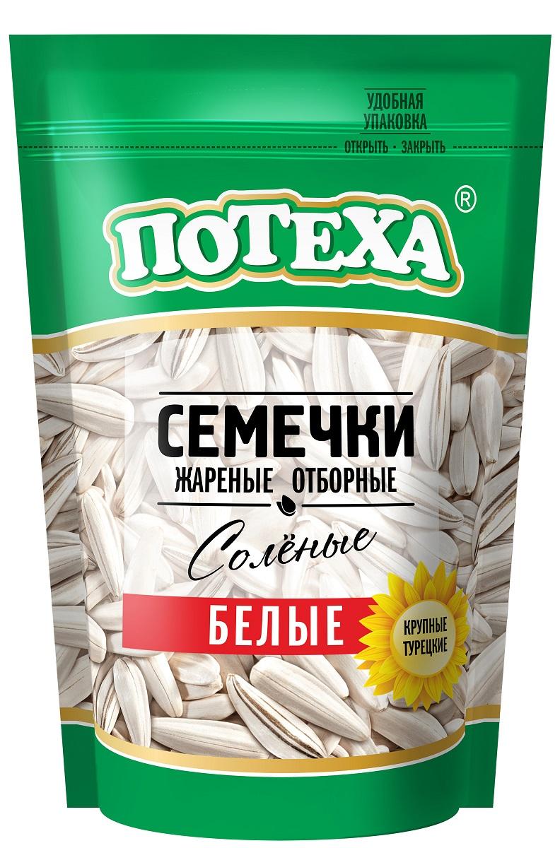 Потеха семечки белые соленые, 170 г Потеха