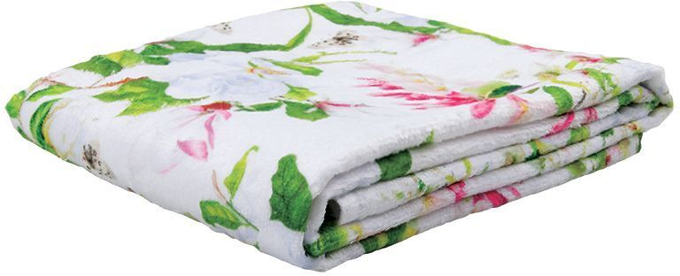Полотенце банное Mona Liza Magnolia, цвет: белый, 70 х 140 см mona liza mona liza полотенце 70 140 summer surf
