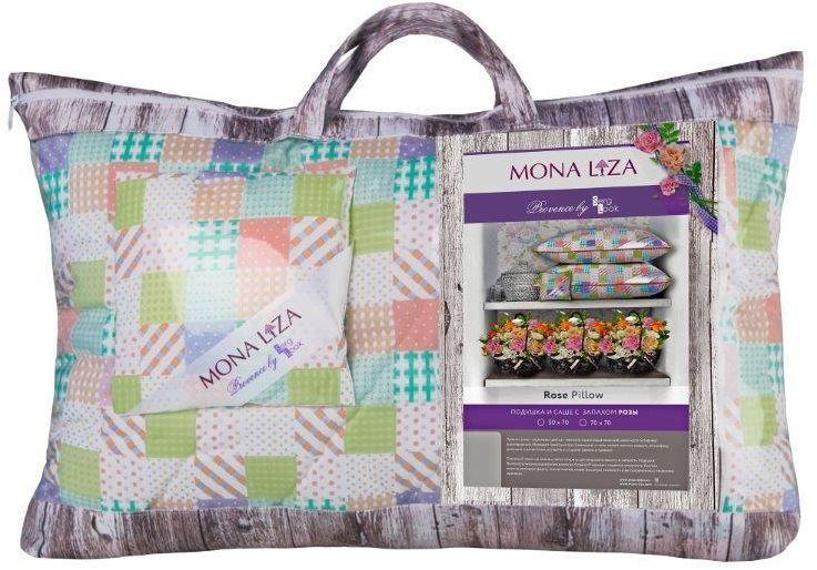 Подушка Mona Liza Provence аромат Rosa, 50 х 70 см подушка mona liza цвет белый 50 х 70 см 539414
