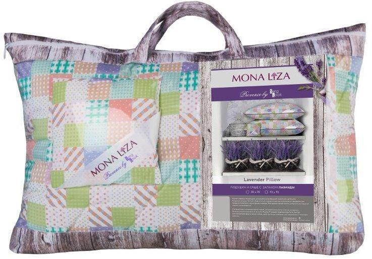 Подушка Mona Liza Provence аромат Lavender, 50 х 70 см549914/3Подушка Mona Liza Provence выполнена из пуходержащего тика. Имеет стеганный чехол (ниточная стежка). Наполнитель - силиконизированное волокно Лебяжий пух. К каждой подушке идет саше. Аромат непременно окутает комнату легким шлейфом нежнейшего парфюма. Не откажите себе в удовольствие и создайте уникальный интерьер с коллекцией Provence!