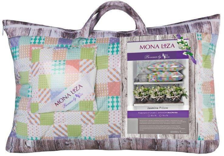 Подушка Mona Liza Provence аромат Jasmine, 50 х 70 см подушка mona liza цвет белый 50 х 70 см 539414