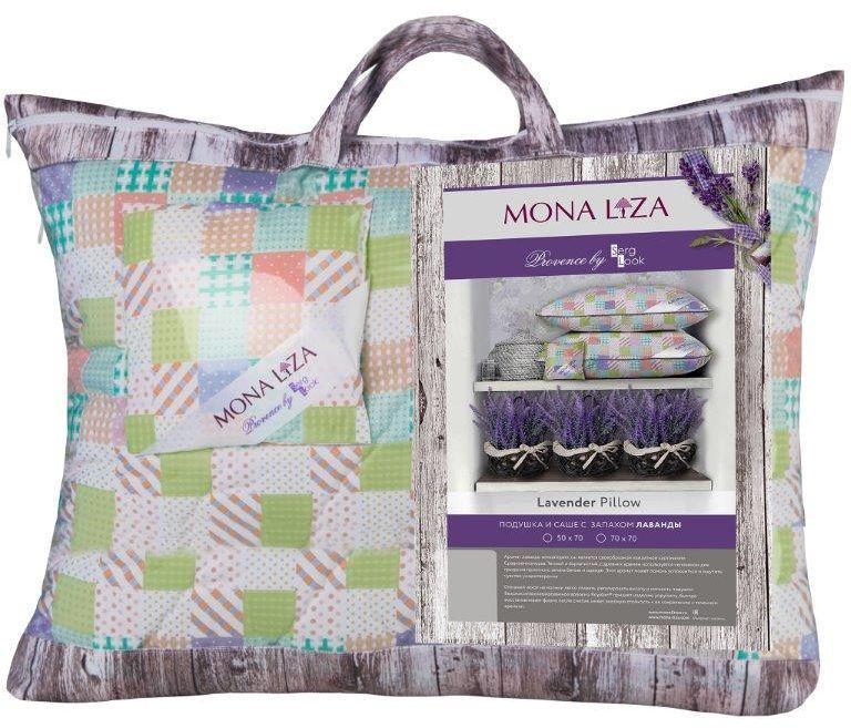 Подушка Mona Liza Provence аромат Lavender, 70 х 70 см549921/3К каждой подушке и одеялу идет саше. Аромат лаванды, розы, жасмина и сирени непременно окутает комнату легким шлейфом нежнейшего парфюма. Не откажите себе в удовольствие и создайте уникальный интерьер с коллекцией PROVENCE!