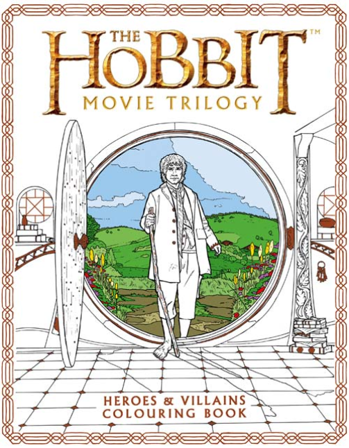 The Hobbit Movie Trilogy Colouring Book die hard the official colouring book