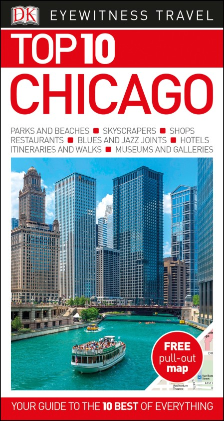 DK Eyewitness Top 10 Travel Guide Chicago pocket guide to chicago architecture 2e