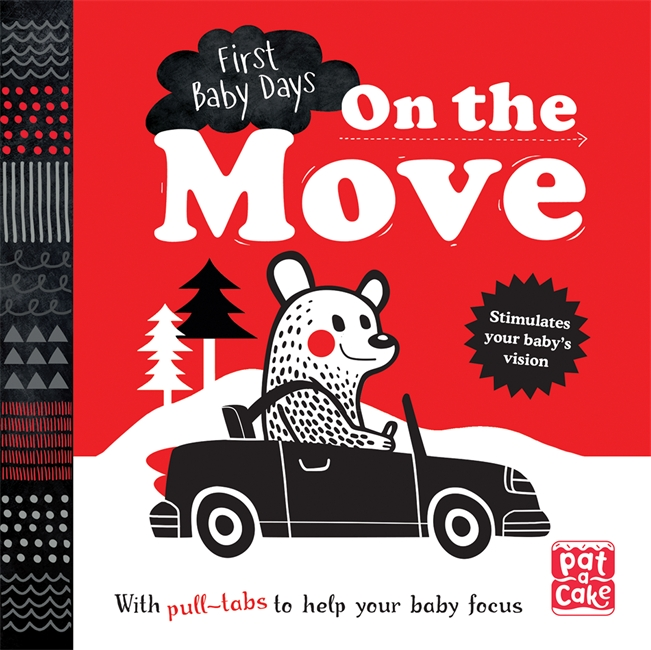 First Baby Days: On the Move middle eastern patterns to colour