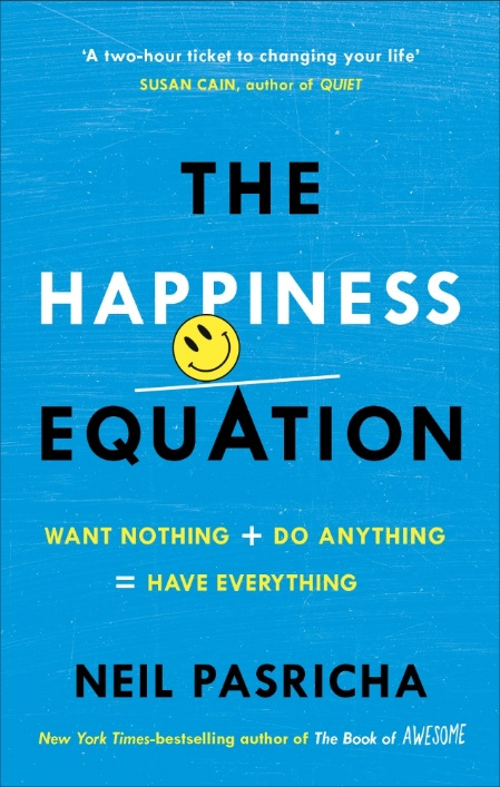 The Happiness Equation: Want Nothing + Do Anything = Have Everything colorful letters decorative super soft household pillow case