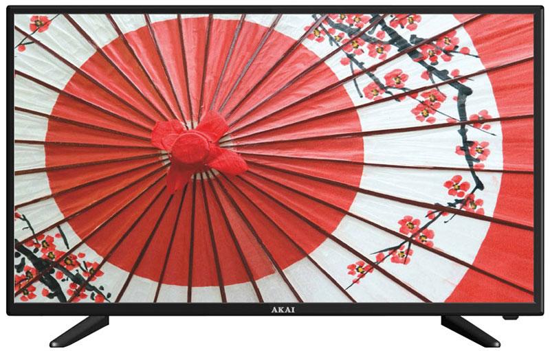 Akai LEA-39V51P телевизорLEA-39V51PAkai LEA-39V51P - телевизор, который поддерживает разрешение HD-Ready (1366 х 768). Высокие показатели яркости (200 кд/м2) и контрастности (3000:1) обеспечивают картинку повышенной четкости с естественной цветопередачей. Качество изображения улучшает также система шумоподавления и функция автоматической подстройки контраста.Акустическая система телевизора воспроизводит объемный звук и представляет собой пару динамиков каждый мощностью по 8 Вт. Производится автоматическое ограничение уровня громкости (AVL). Эквалайзер и пять предустановленных звуковых режимов позволяют подобрать вариант в соответствии с контентом и собственными вкусами. Пользователь может самостоятельно регулировать баланс низких и высоких частот.Телевизор оснащен одним тюнером, принимающим системы как аналогового (PAL/SECAM BG/DK/I), так и цифрового (DVB-Т2/C) вещания. В памяти представленной модели сохраняется до 99 аналоговых и до 1200 цифровых телеканалов.Интерфейс USB и встроенный медиаплеер дают возможность воспроизводить с помощью телевизорафайлы с внешних совместимых носителей - с флэшки или внешнего жесткого диска.