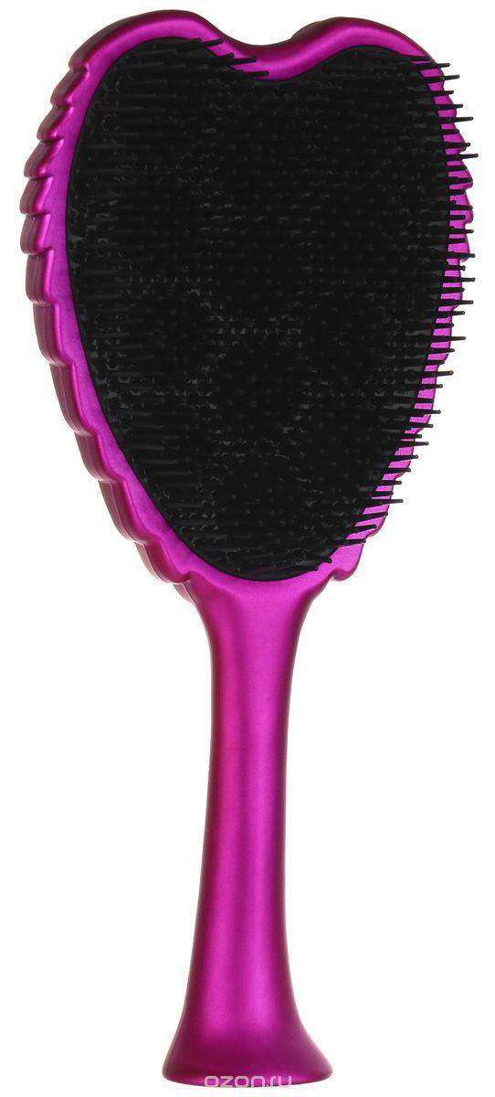 TANGLE ANGEL EXTREME Щетка для волос тон Pink/Black20879Прекрасная внешне и максимально функциональная форма щетки позволяет контролировать процесс каждый день и держать ее как за «крылья», так и за ручку — в зависимости от того, к чему вы привыкли. Для того, чтобы расческа легко и безболезненно распутывала даже самые непослушные пряди, Tangle Angel создали новую форму головки, где щетинки расположены на разной высоте, за счет чего она может легко скользить по волосам и разглаживать проблемные участки. Щетку можно использовать даже во время сушки и не бояться, что она утратит первоначальную форму или навредит волосам.