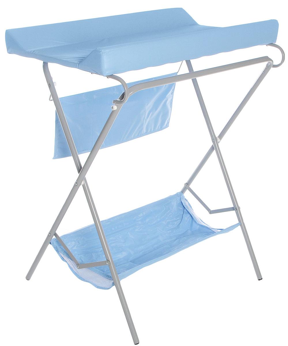 Фея Стол для пеленания цвет голубой