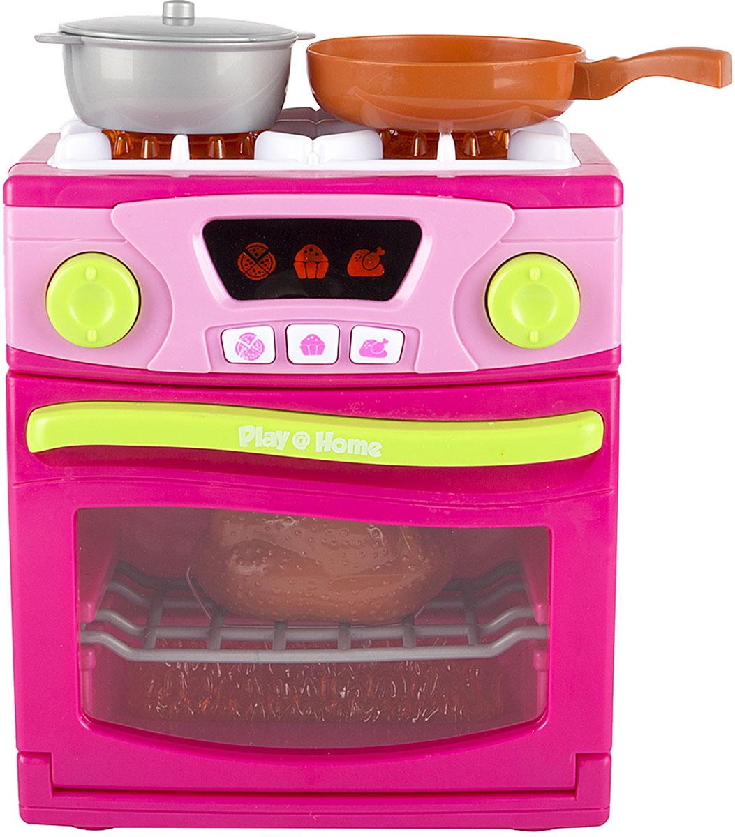 """Keenway Игровой набор """"Плита"""", цвет: розовый"""