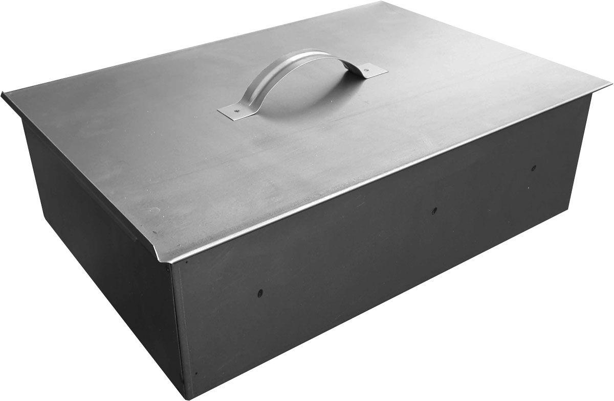 Коптильня одноярусная BG Эконом. 2728627286Одноярусная коптильня Эконом класса, предназначена для копчения мяса, рыбы, овощей и других продуктов. Изготовлена из стали 0,5 мм. Сдвижная крышка.