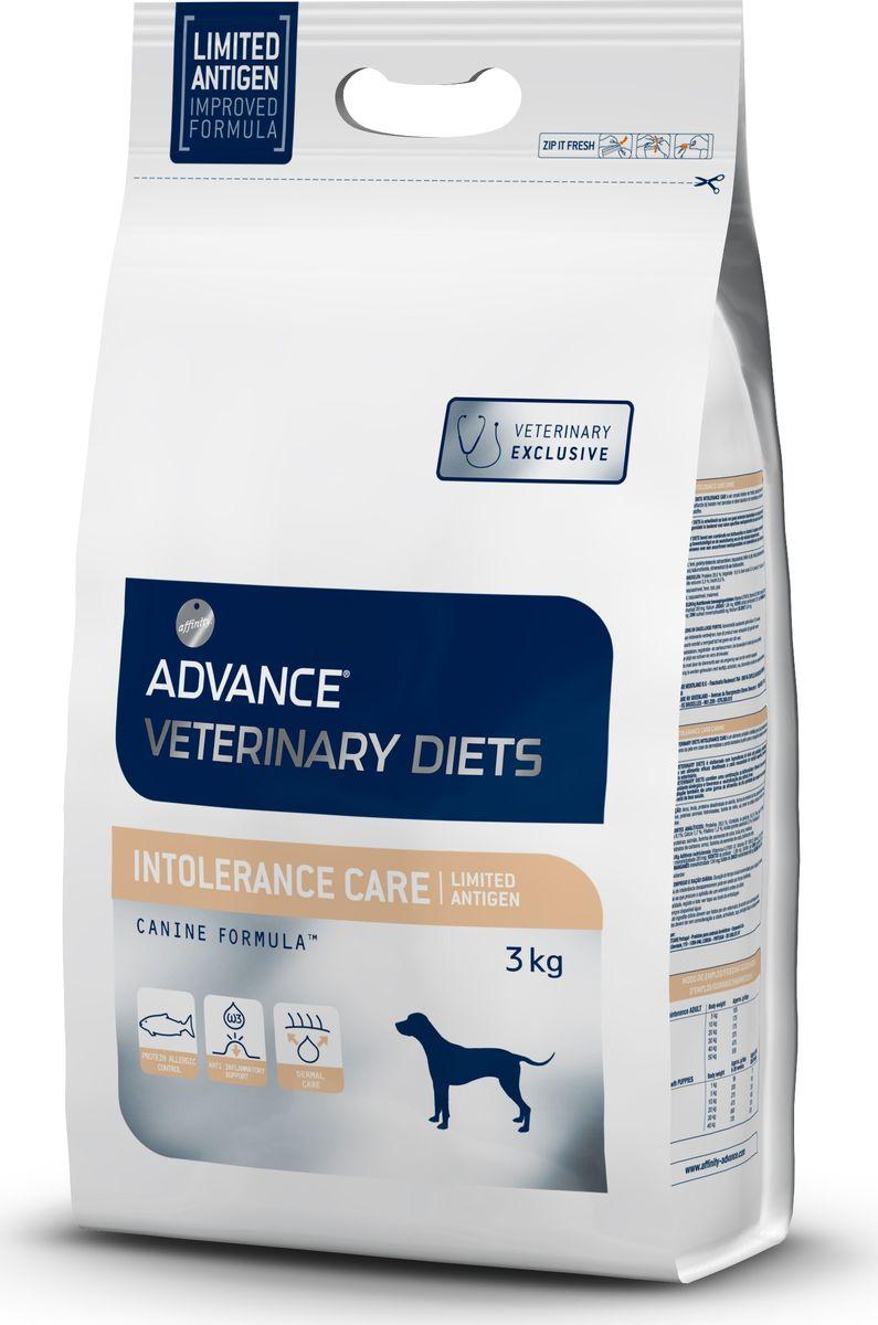 Корм сухой Advance Intolerance/Limited Antigen для собак с пищевой непереносимостью, 3 кг корм сухой advance gastro enteric для собак при патологии жкт и ожирении 12 кг