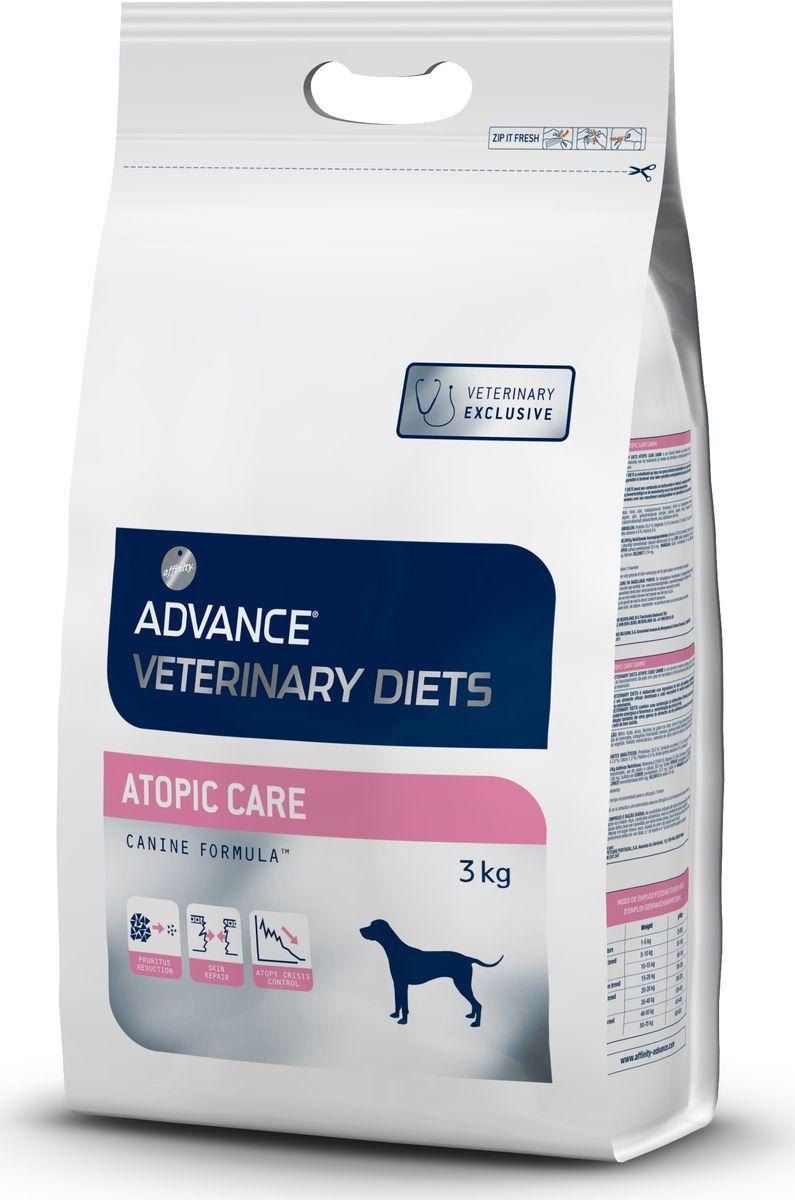 Корм сухой Advance Atopic для собак при дерматозах и аллергии, 3 кг13283/529310Advance - высококачественный корм супер-премиум класса испанской компании Affinity Petcare, которая занимает лидирующие места на европейском и мировом рынках. Корм разработан с учетом всех особенностей развития и жизнедеятельности собак и кошек. В линейке кормов Advance любой хозяин может подобрать необходимое питание в соответствии с возрастом и уникальными особенностями своего животного, а также в случае назначения специалистами ветеринарной диеты. Affinity Petcare имеет собственную лабораторию, а также сотрудничает с множеством международных исследовательских центров, благодаря чему специалисты постоянно совершенствуют рецептуру и полезные свойства своих кормов. В составе главным источником белка является СВЕЖЕЕ мясо, благодаря которому корм обладает высокими вкусовыми качествами, а также высокой питательной ценностью. Состав: маис, форель, рис, маисовый глютен, дегидрированная форель, животные жиры, картофельный протеин, свекольный жом, гидролизованный коллаген, дрожжи, гидролизованные белки животного происхождения, соевое масло, рыбий жир, растительные волокна, монокальций фосфат, карбонат кальция, хлорид калия, соль, листья оливы. Товар сертифицирован.