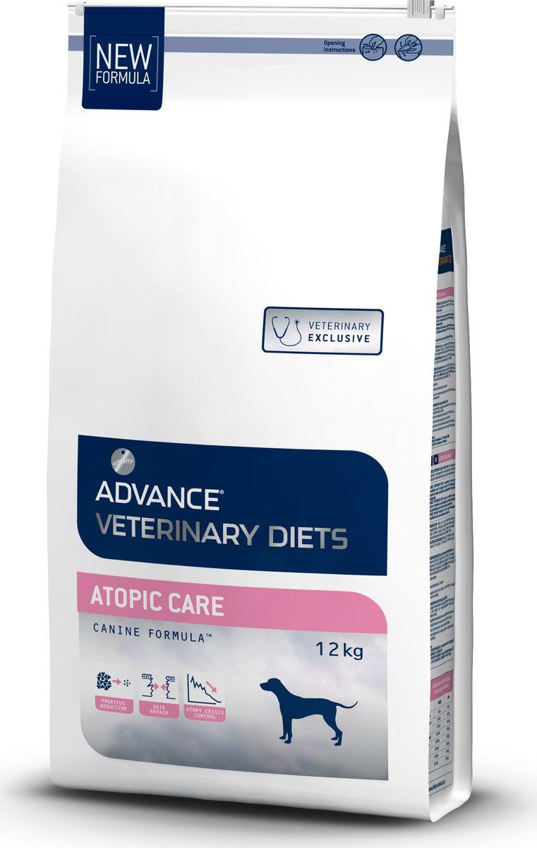 "Корм сухой Advance ""Atopic"" для собак при дерматозах и аллергии, 12 кг"