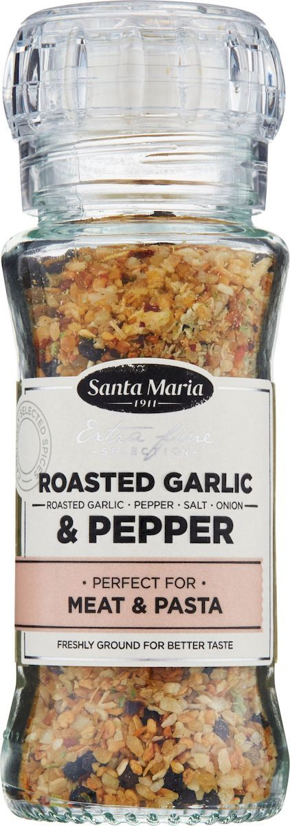 Santa Maria Чеснок и перец, 80 г santa maria ароматная смесь чили перцев 70 г