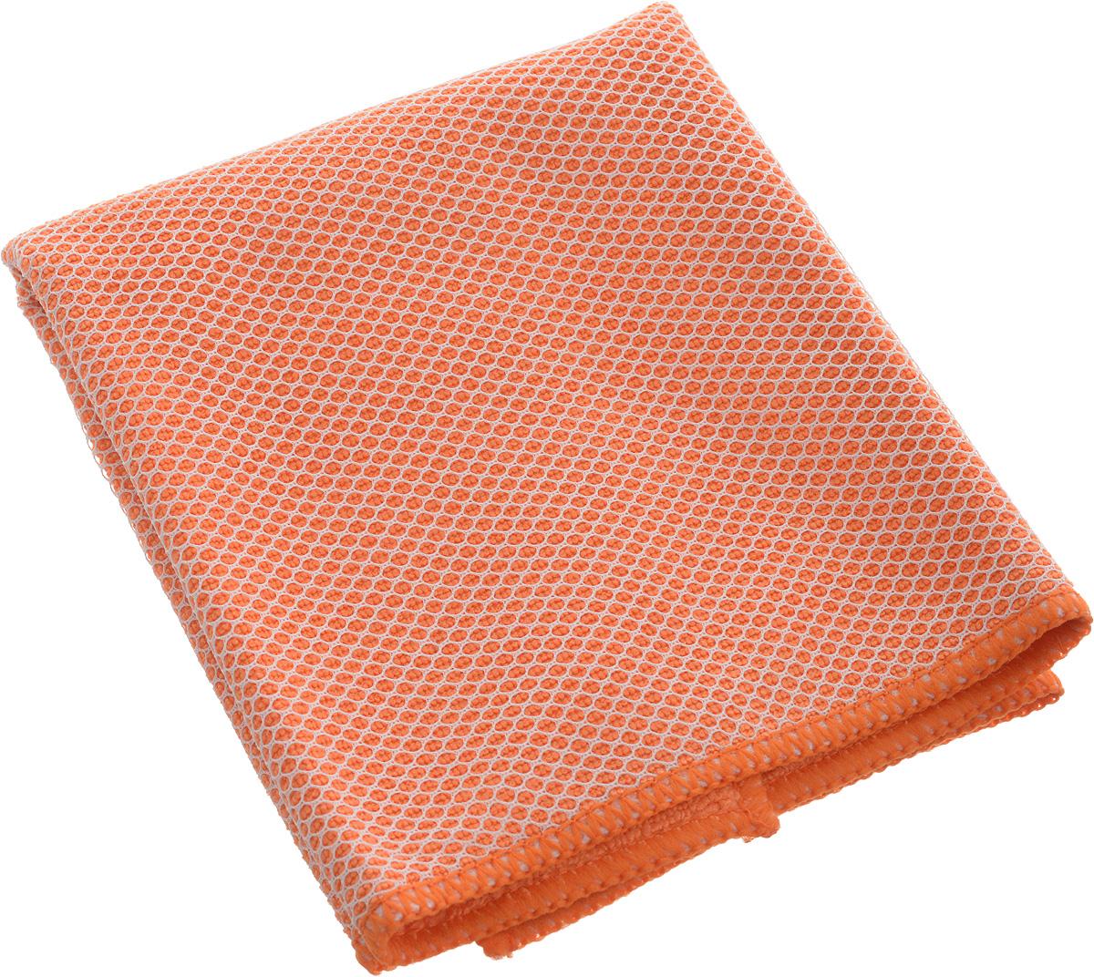 Салфетка Airline, цвет: оранжевый, 35 х 40 смAB-A-04Салфетка из микрофибрового материала имеет мягкую поверхность, которая сособой деликатностью устраняет загрязнения с поверхностей, делая уборку ещеболее быстрой и комфортной.Состав: 20% полиамид, 80% полиэстер.