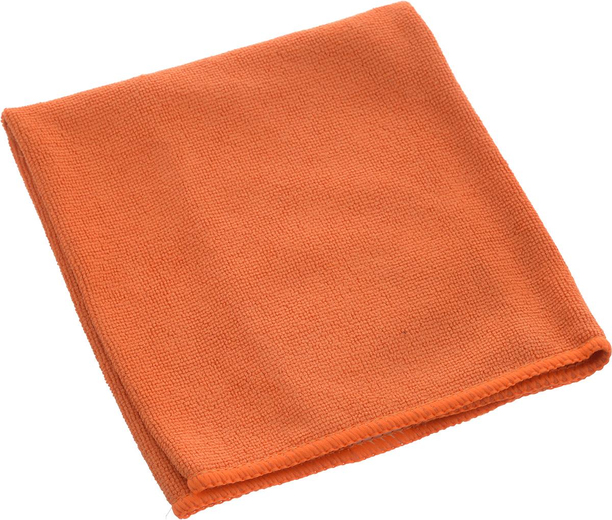 Салфетка из микрофибры Airline, цвет: оранжевый, 35 х 40 смSV3055СБ-18РSМягкая салфетка Airline выполнена из микрофибры. Мягкий ворс микрофибры очистит поверхность от пыли и загрязнений, микробов и грибком, и не отставит царапин. Материал хорошо впитывает жидкость, быстро сохнет и не подвержен быстрому износу после многочисленных стирок.