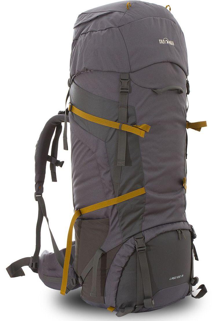 Рюкзак туристический Tatonka Lago, цвет: серый, 115 лDI.6027.021Классический туристический рюкзак Tatonka Lago выполнен в строгом дизайне из прочной ткани Textreme 6.6. Два просторных отделения позволит с удобством разместить все необходимые в походе или путешествии вещи. За счет объемной крышки и расширяющегося основного отделения объем рюкзака достигает 115 литров. Прочная удобная спинка рюкзака выполнена с учетом анатомических особенностей спины человека, благодаря этому с рюкзаком будет комфортно идти даже в продолжительном походе. Нижнее и основное отделения рюкзака разделены съемной перегородкой на молнии, одним движением их можно соединить между собой или снова разделить. Доступ в основное отделение осуществляется через верхний расширяющийся вход, а нижнее отделение оснащено молнией с двумя бегунками, благодаря чему можно получить доступ к конкретным нужным вещам, не открывая молнию полностью.Особенности: - Система подвески Y1. - Одно основное отделение, увеличивающееся в объеме в верхней части. - Объемная крышка рюкзака с крючком для ключей.- 4 петли на крышке.- Крышка рюкзака регулируется по высоте (до 25 см выше стандартного положения). - Затяжка внутреннего отделения на один или два шнура, в зависимости от объема заполнения. - 4 боковые затяжки позволяют регулировать объем. - Петли для крепления треккинговых палок. - Два боковых просторных кармана. - Широкий плотный набедренный пояс с двумя параметрами регулировки (по ширине и степени прилегания к рюкзаку). - Регулировка спины рюкзака позволяет отрегулировать высоту и натяжение лямок относительно спины рюкзака. - Спинка рюкзака выполнена с учетом анатомических особенностей спины человека. - Сетчатые элементы в спине и набедренном поясе обеспечивают вентиляцию в жаркую погоду. - Регулируемый по ширине и высоте нагрудный ремень. - В нагрудный ремень вшита резинка для комфорта движения. - Прочная ручка для переноски и помощи при надевании рюкзака. - Молния в нижнее отделение оснащена двумя бегунками. - Перег