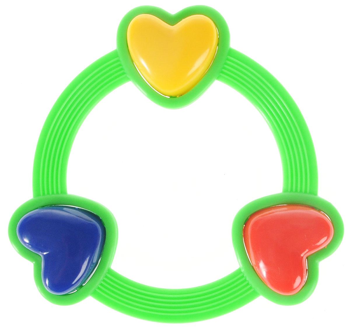 Умка Погремушка Кольцо с сердечками