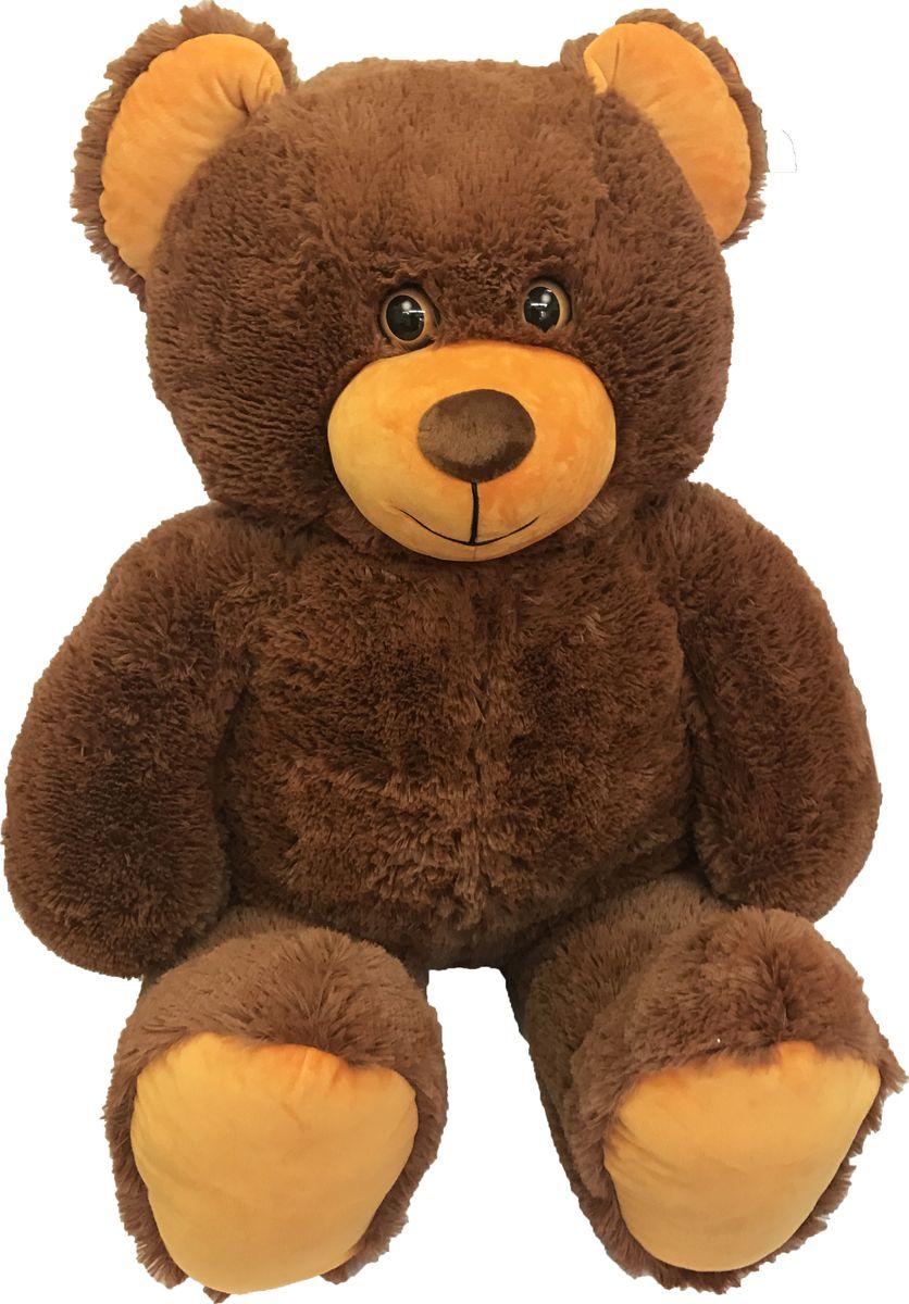 СмолТойс Мягкая игрушка Медведь цвет коричневый 125 см мягкая игрушка медведь с медвежонком